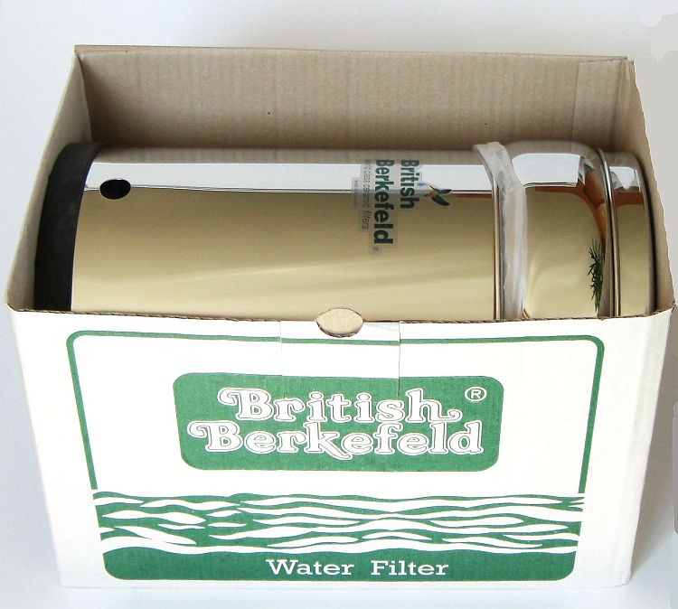 Wasserfilter SS4 in Transport-Verpackung