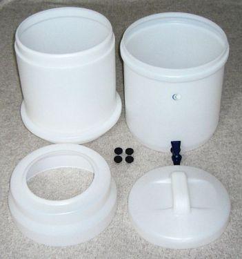 LP5 Wasserfilter System Einzelteile des Gehäuses