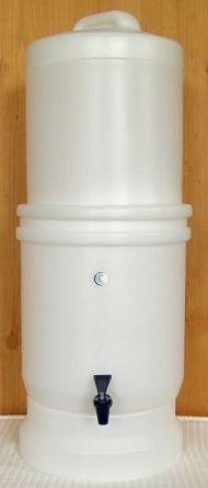 LP5 Wasserfilter Frontalansicht Gesamtsystem